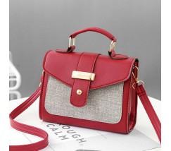 Елегантна жіноча сумка червона
