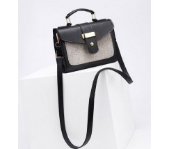 Елегантна жіноча сумка чорна