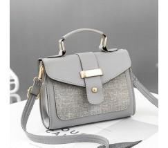 Елегантна жіноча сумка сіра