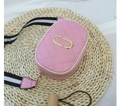Женская мини сумочка розовая