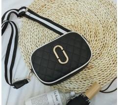 Женская мини сумочка черная