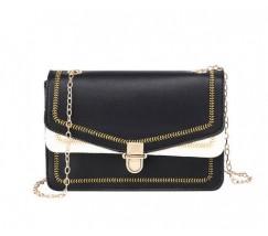 Гарна сумка на ланцюжку чорна