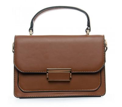 Модная женская сумочка коричневая