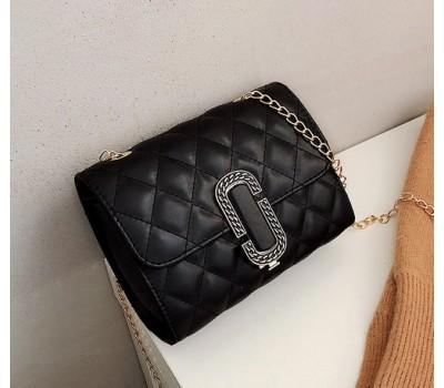 Женская маленькая сумка в стиле Marc Jacobs черная