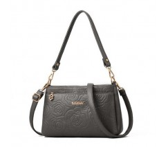 Гарна жіноча сумочка клатч сіра