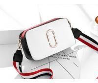 Женская мини сумочка Marc Jacobs белая (копия)