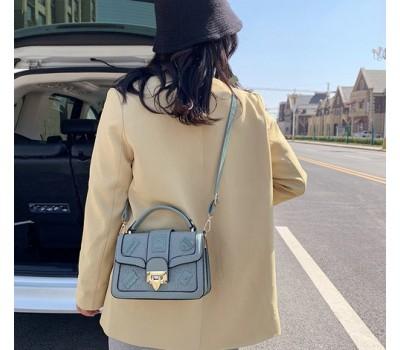 Оригинальная женская сумка голубая