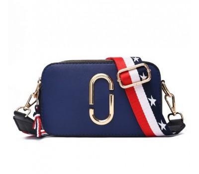 Женская мини сумочка Marc Jacobs синяя (копия)