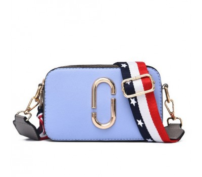 Женская мини сумочка Marc Jacobs голубая (копия)