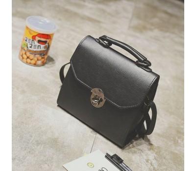 Женская компактная сумка черная