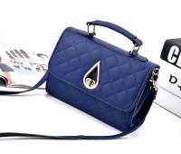 Жіноча маленька сумка Краплинка синя
