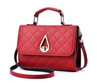 Жіноча маленька сумка Краплинка червона