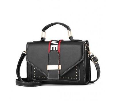 Женская маленькая сумочка черная