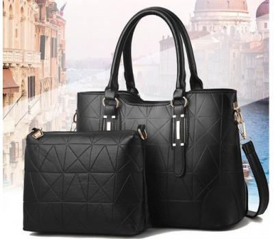 Набор сумка и клатч черный