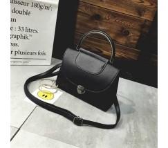Женская сумка Винтаж черная