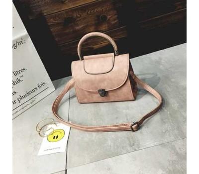 Женская сумка Винтаж розовая