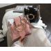 Прозрачная сумка розовая