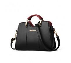 Елегантна жіноча сумка чорного кольору