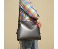 Жіноча сумка срібло