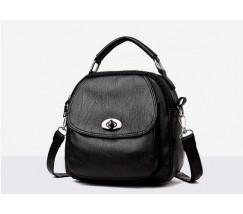 Компактная сумка-рюкзак черная