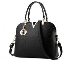 Гарна жіноча сумка чорна