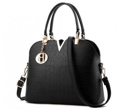 Красивая женская сумка черная