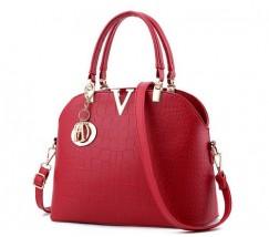 Гарна жіноча сумка червона