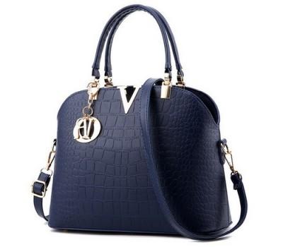Красивая женская сумка синяя