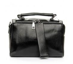 Женская вместительная сумка черная