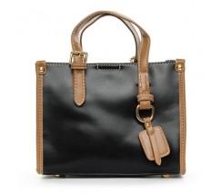 Женская сумка среднего размера черная