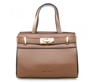 Средняя женская сумка коричневая