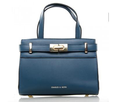 Средняя женская сумка синяя