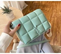 Жіноча сумка м'ятна Yves Saint Laurent копія